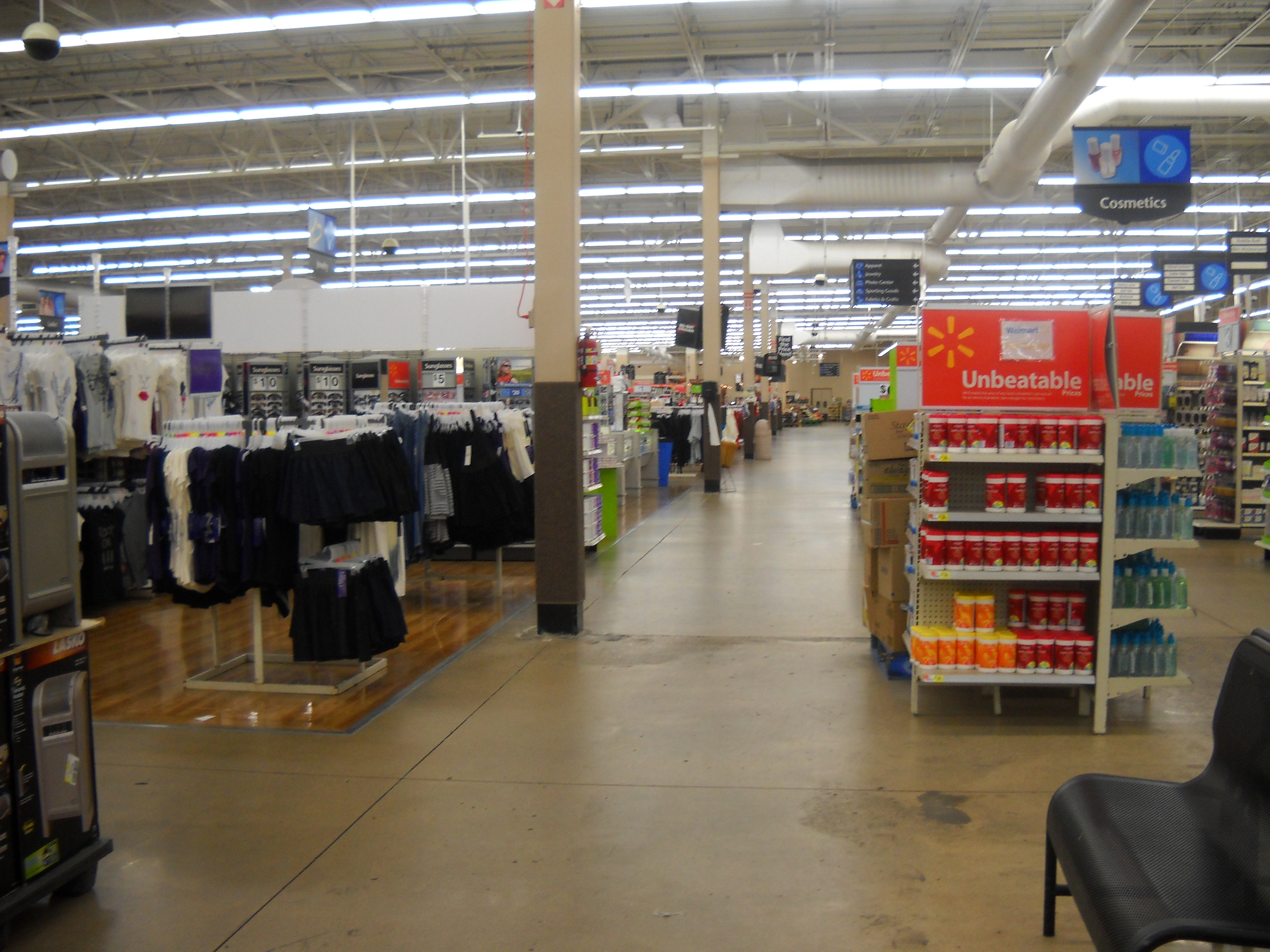 walmart stores inc owners of sams club and other legal holdings inside the walmart supercenter in west plains missouri