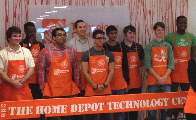 market segmentation and home depot Two retailers, the home depot and lowe's, have been helping consumers   more than 50 percent of home depot's marketing spend is digital,.